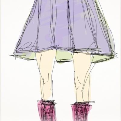 boots and skirt lillibridge dakota 1966