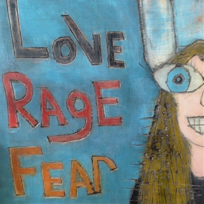 Lillibridge, Dakota 1966, Love RAge Fear girl