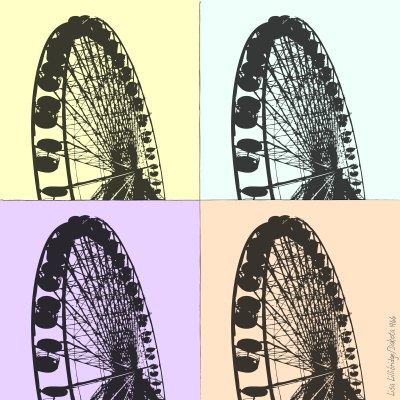 ferris wheel paris lillibridge dakota 1966