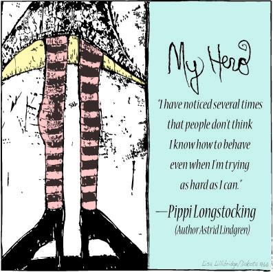 My Hero Pippi Lisa Lillibridge Dakota 1966