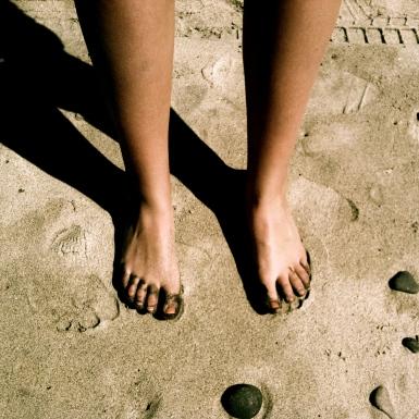 barefoot beach shot lillibridge dakota 1966