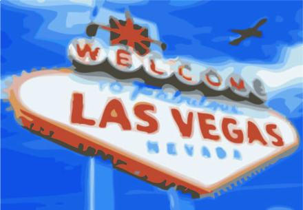 vegas sign illustration lisa lillibridge dakota 1966