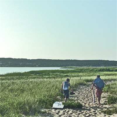 walking off the beach lillibridge