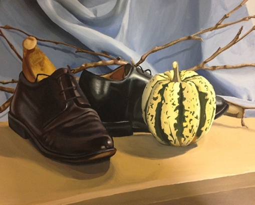 Maddy Brookes acrylic still life two