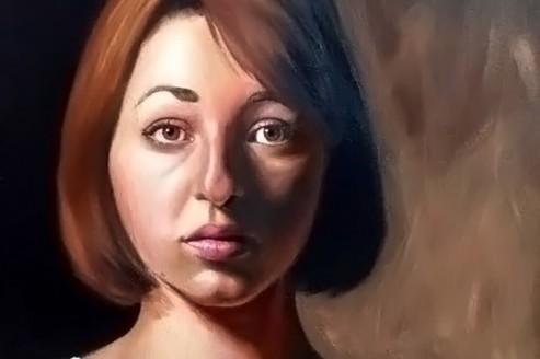 Maddy Brookes self portrait