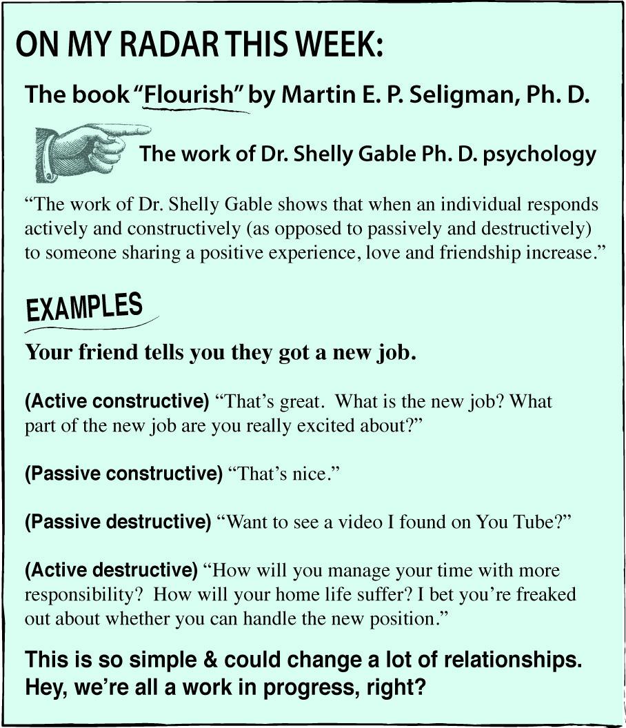 communication martin seligman