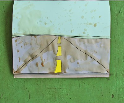 south dakota road sketch lisa lillibridge