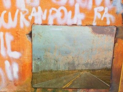 south dakota two lane and graffiti lillibridge
