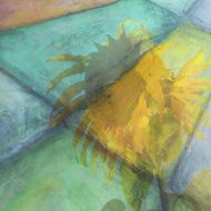 lillibridge sunflower photo sections of land painting