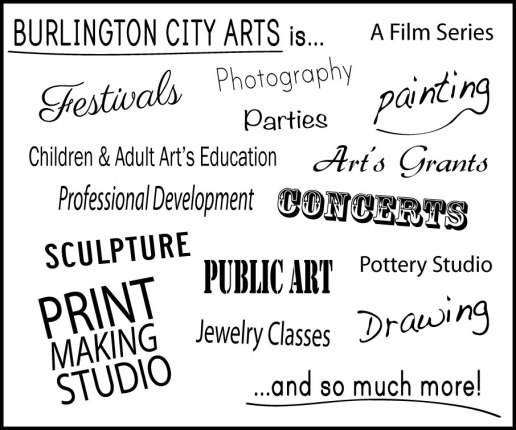 burlington city arts is