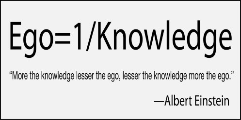 ego einstein quote