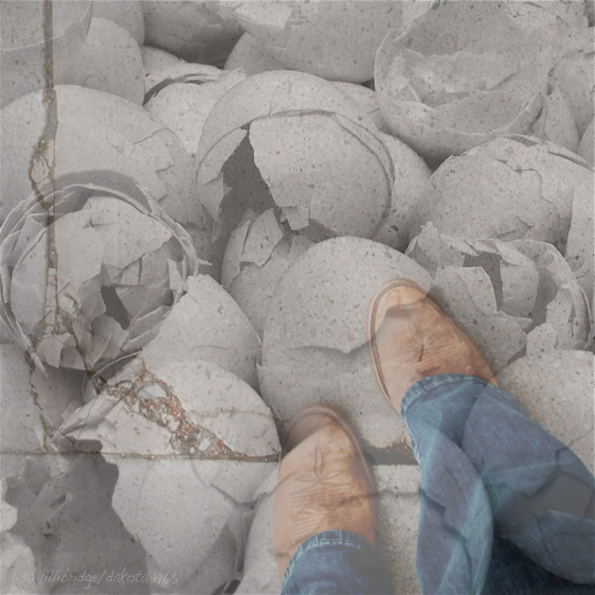 Lisa Lillibridge walking on eggshells dakota