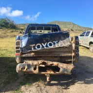 beat up truck st kitts