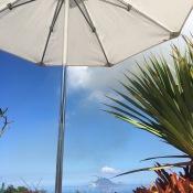 umbrella and island