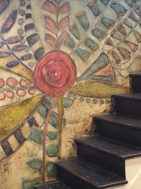 Lisa Lillibridge's modern fresco