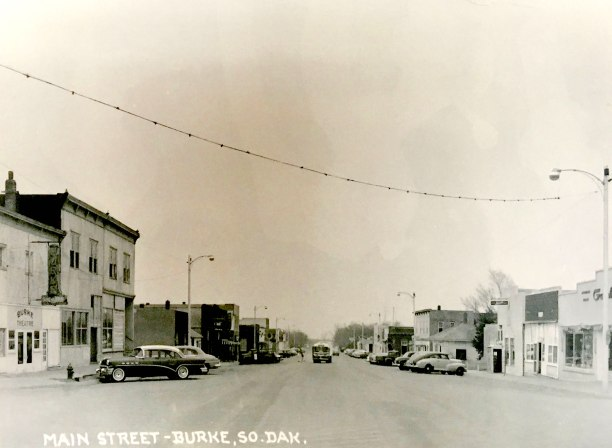 Main Street—Burke, South Dakota